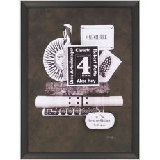 No.4 Framed Art