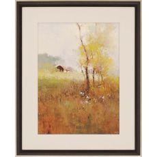 Serene Field Framed Art