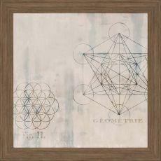 Geometrie I Framed Art