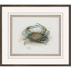 He Crab Framed Art
