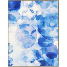 Blue Overlapping II Canvas Oils