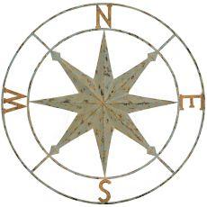 Compass Points Wall Sculpture