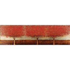 Blazing Trees Canvas Oils