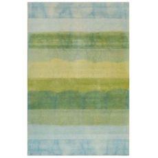 "Liora Manne Piazza Textured Stripe Indoor Rug Sea Breeze 42""X66"""