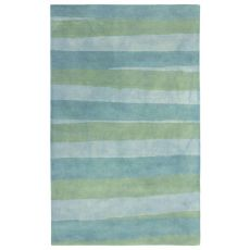 Stripes Sea Breeze Rug 8' X 10'