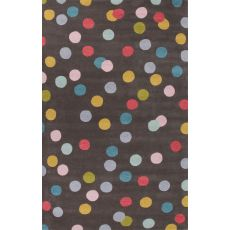 Dots Pattern Wool Playful By Petit Collage Area Rug