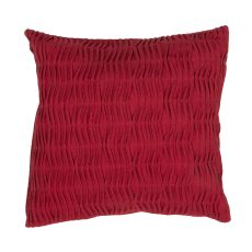 """Modern/Contemporary Pattern Red Cotton Down Fill Pillow ( 20""""X20"""")"""