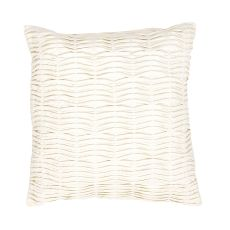 """Modern/Contemporary Pattern Ivory/White Cotton Down Fill Pillow ( 20""""X20"""")"""