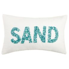 Sand Beaded Pillow 12X20 in.
