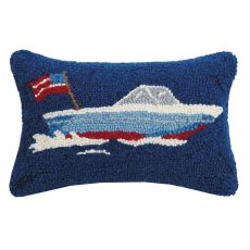 Speed Boat Hook Pillow 8X12 in.