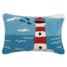 Lighthouse Hook Pillow M/2 8X12 in.