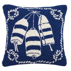 Buoy Nautical Hook Pillow 16X16 in.