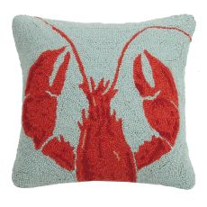 Cropped Lobster Hook Pillow 16X16 in.