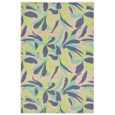 """Liora Manne Playa Flower Indoor/Outdoor Rug - Blue, 39"""" by 59"""""""