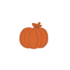 Pumpkin 9X9 Doily, Set Of 12