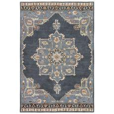 Oriental Pattern Wool Poeme Area Rug