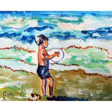 Boy & Surf Place Mat Set Of 4