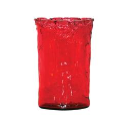 Maya Large Vase In Red