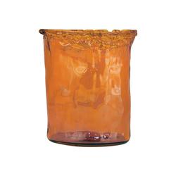 Maya Medium Vase In Orange