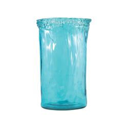 Maya Extra Large Vase In Aroma Blue