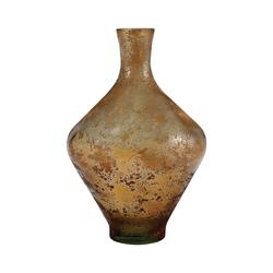 Atlas 11-Inch Vase In Textured Sand