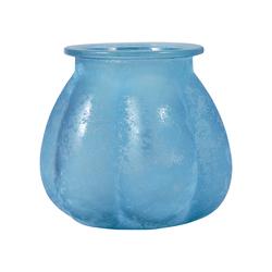 Picalo 6.4-Inch Vase In Textured Azure