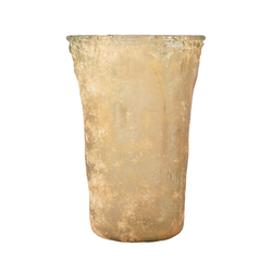 Rhea 12.3-Inch Vase In Textured Guava