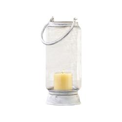 Taos Large Lantern In Antique White
