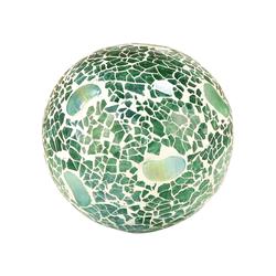 Pebble 4-Inch Sphere In Seafoam