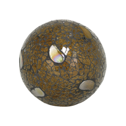 Pebble 4-Inch Sphere In Sand