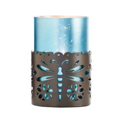 Dragonfly Pillar Holder