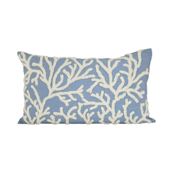 Coralyn 20x12 Pillow In Cool Waters