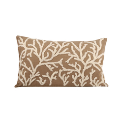 Coralyn 20x12 Pillow In Smoked Pearl