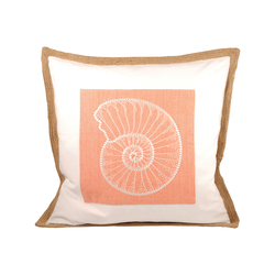 Nautilus Pillow 20X20-Inch