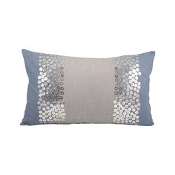 Nautica Shimmer Pillow 20X12-Inch