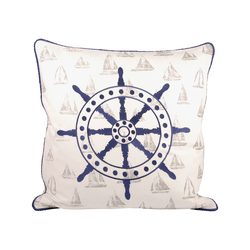 Captains Wheel 20x20 Pillow