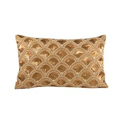 Gilded Scallops 20x12 Pillow