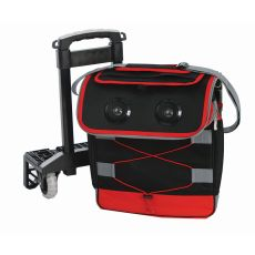 Blue Tooth Beast Cooler, Black/Red