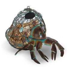 Metal Hermit Crab Wine Cork Caddy