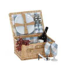 Wicker Boothbay Two person Picnic basket, Natural