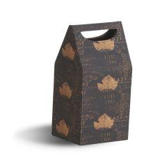 Single Bottle Box, Wine Print