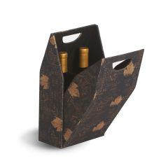 Double Bottle Box, Wine Print