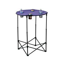 Scrimmage Tailgate Table, Purple