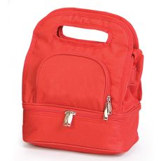 Savoy Lunch Bag, Solid Red