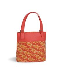Cork Luxe Double Wine Bag, Floral Cork