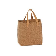 Cork Cork Tote and Bottle Bag, Cork