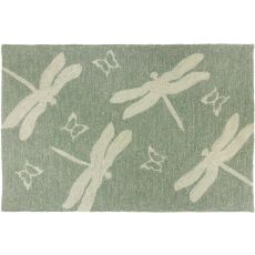 Dragonfly Field Indoor Outdoor Rug, 22 x 34 in.