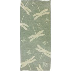 Dragonfly Field Indoor Outdoor Rug, 26 x 60 in.