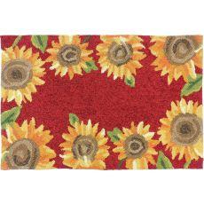 Sunflower Field Indoor Outdoor Rug, 22 x 34 in.