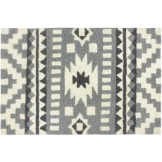 Heritage In Gray Indoor Outdoor Rug, 22 x 34 in.